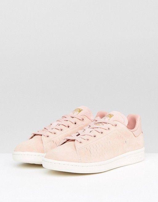 adidas Originals Haze Coral Stan Smith Sneakers | Stan smith