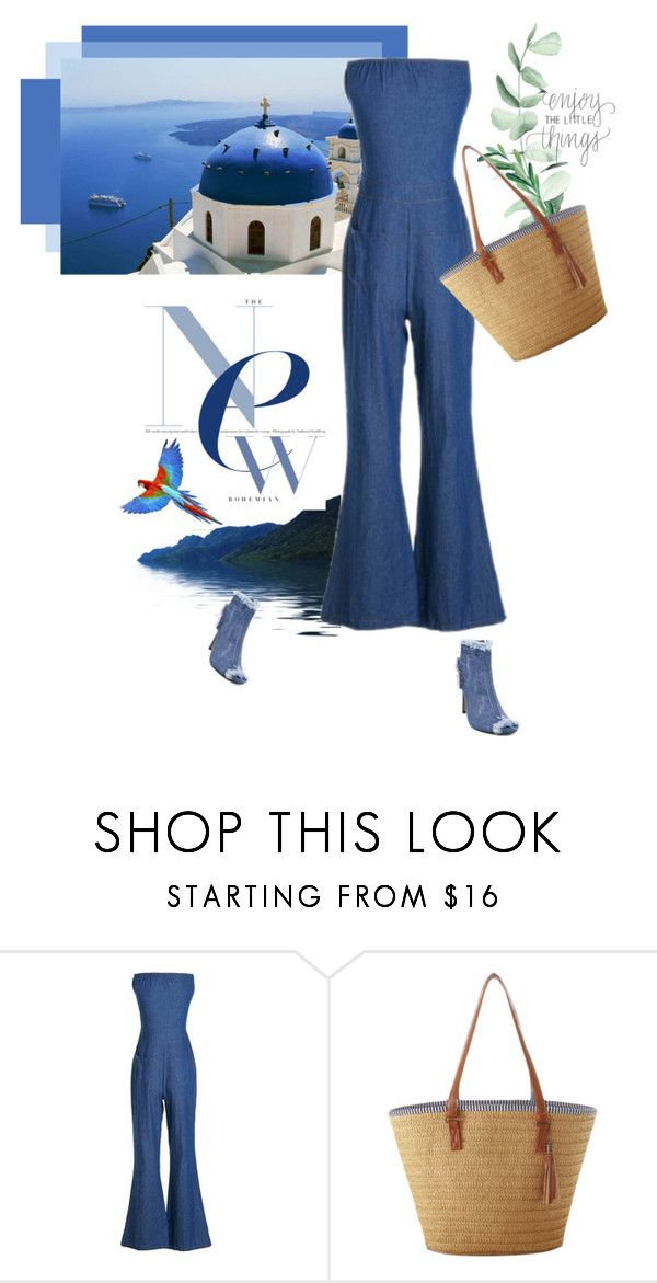 """Luli blue"" by stellina-from-the-italian-glam ❤ liked on Polyvore featuring alldenim"