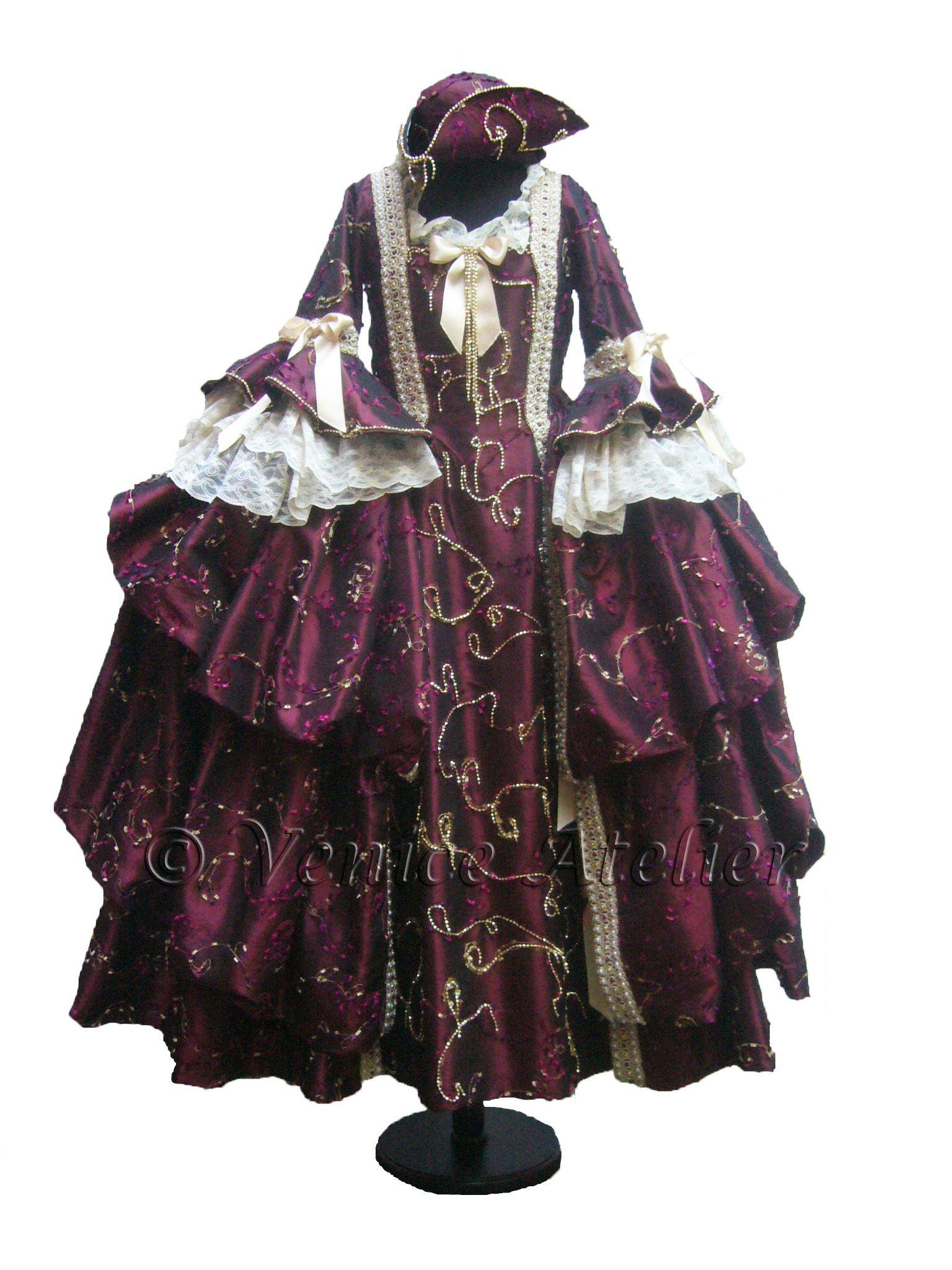 Venice Atelier: historical costume 1700s #historical #costume #dress ...