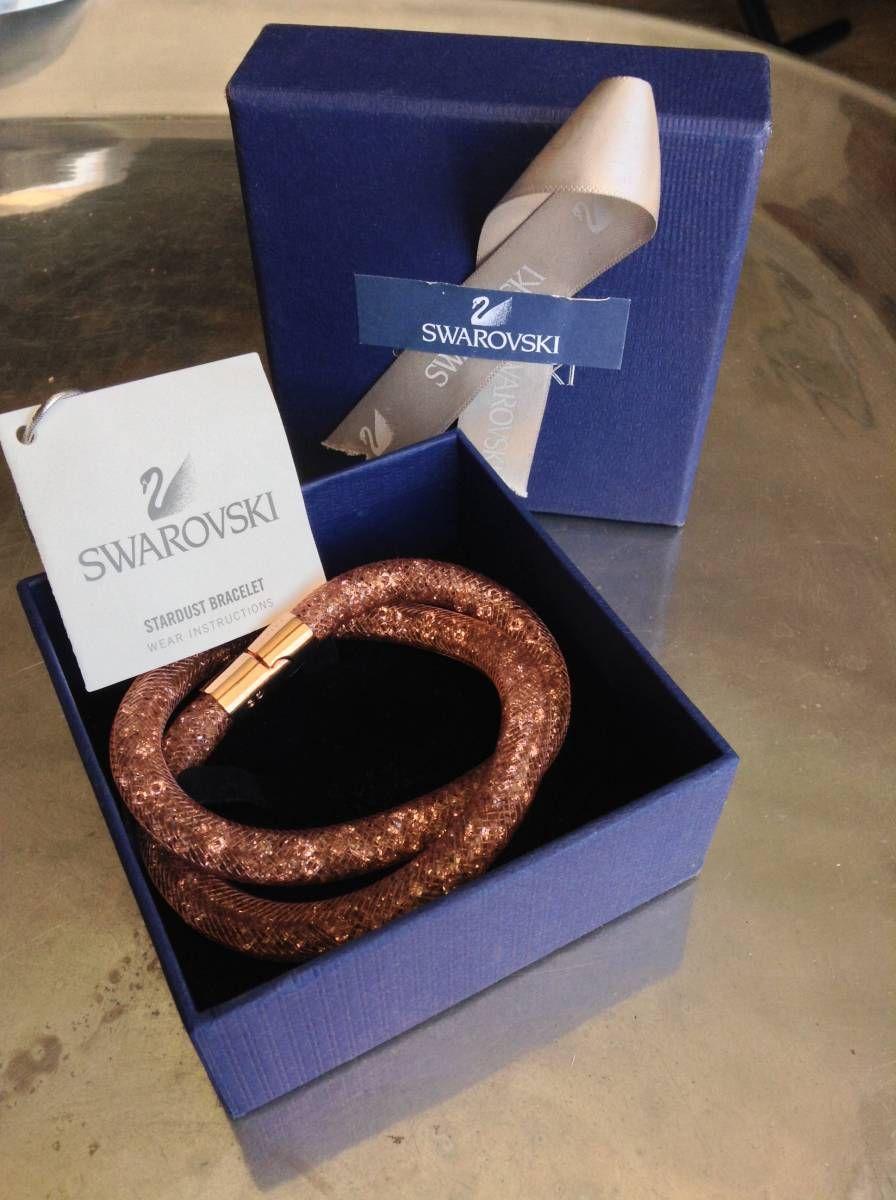 36377ac6d18 swarovski colar + pulseira - jóias swarovski