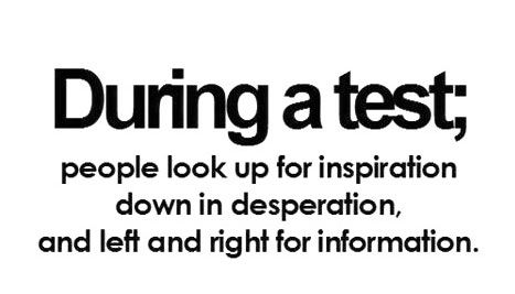 I always feel like teachers/profs think I'm cheating when this happens lol