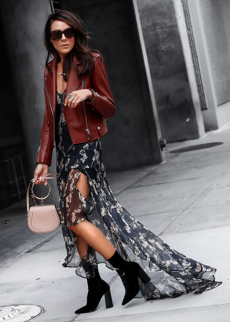 5486b7fd84d1fa ... italy mlm floral dress mackage leather jacket chloe bag velvet tony  bianco boots 37c72 4f866