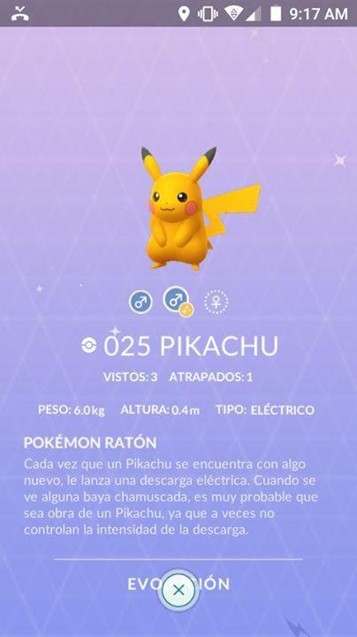 Por qué mi Pikachu es de un color más intenso y brilla tiene algo ...