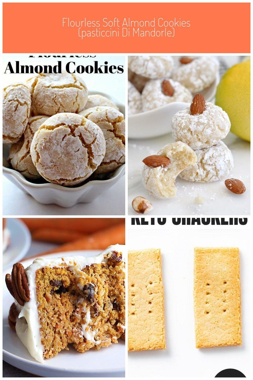 Flourless Soft Almond Cookies Pasticcini di Mandorle are a