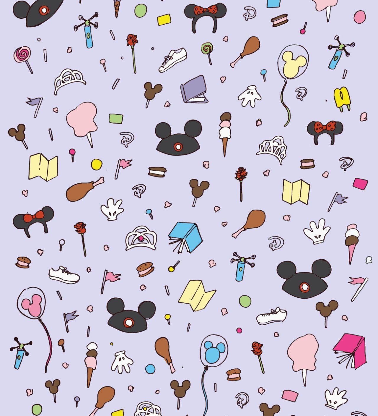 Purely Patterns Photo Disney Collage Disney Doodles Disney