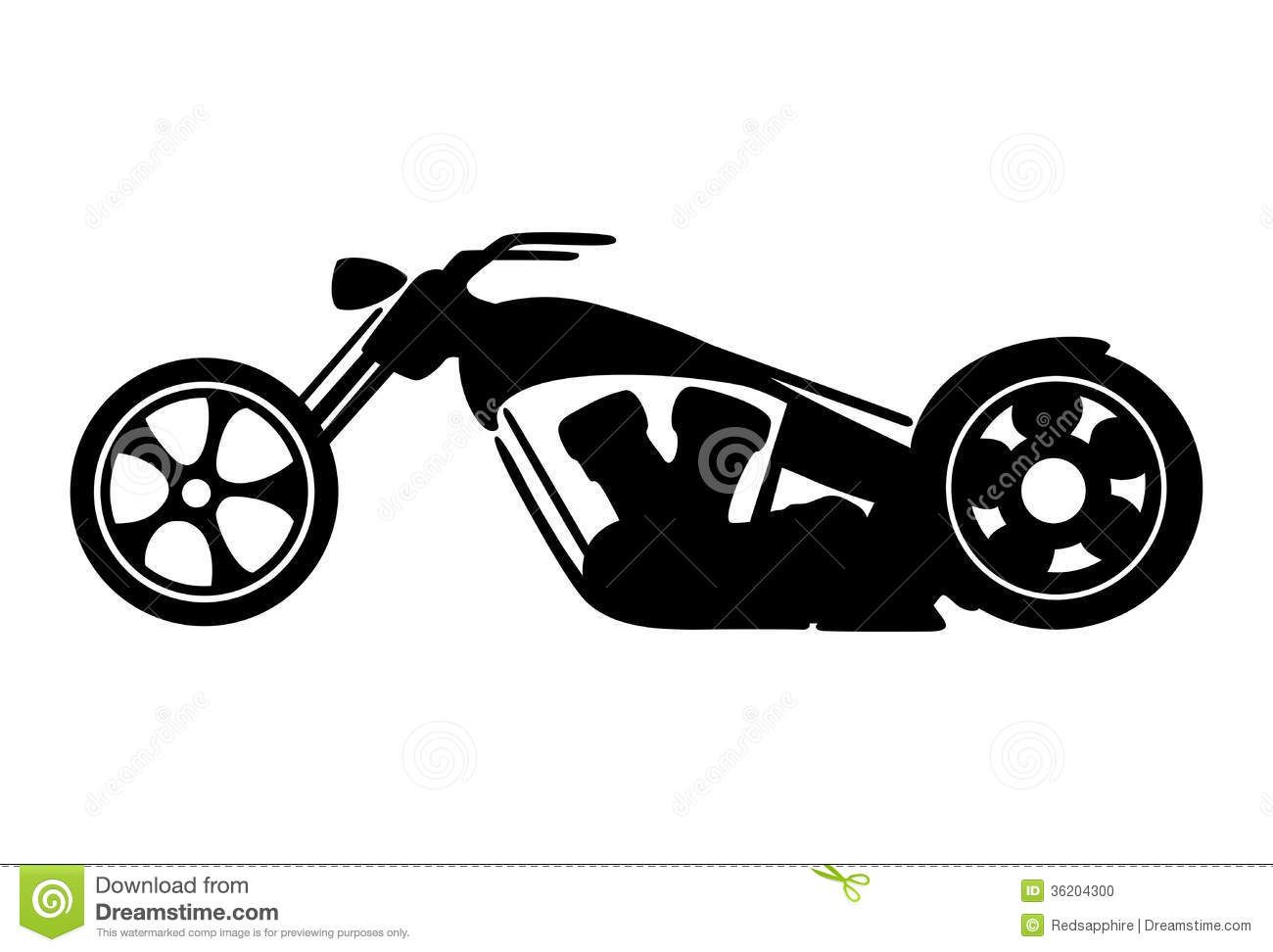 black-motorcycle-silhouette-isolated-on-white-background-kIHFI5 ... for Racing Motorcycle Clipart Black And White  67qdu