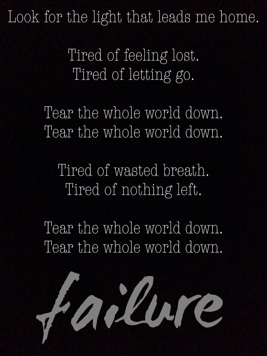 Breaking Benjamin - Failure lyrics - Benjamin Burnley (Dark ...