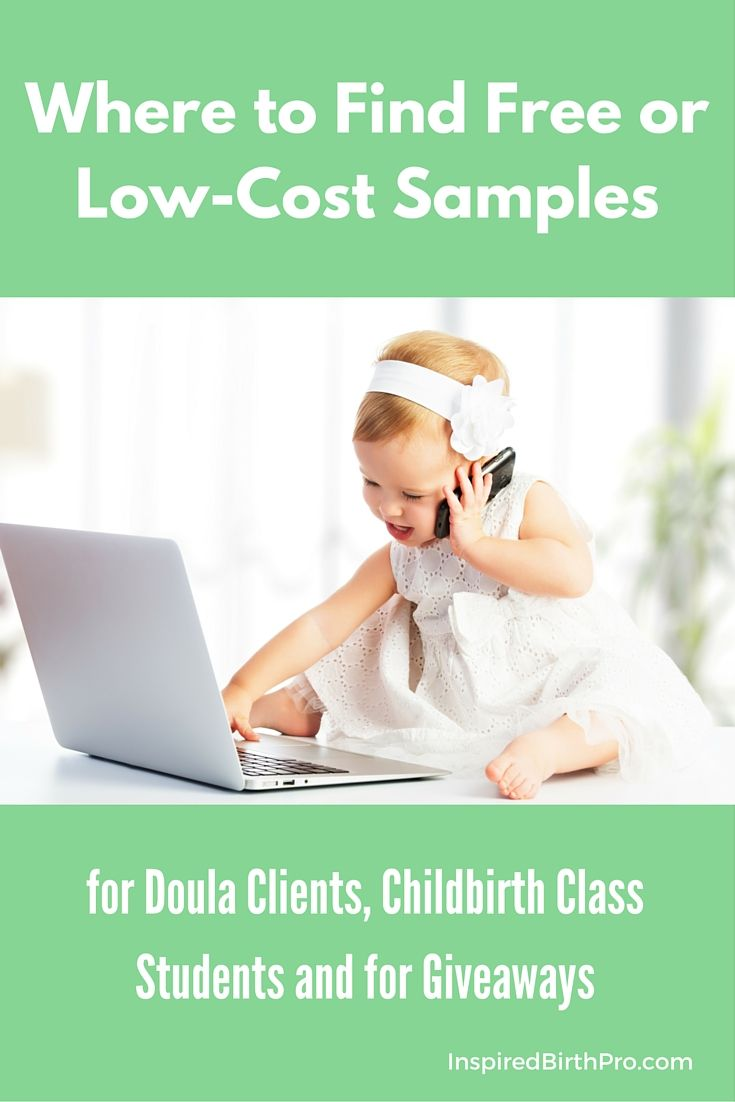 Free Or Low Cost Samples For Doula Clients And Baby Fairs Baby