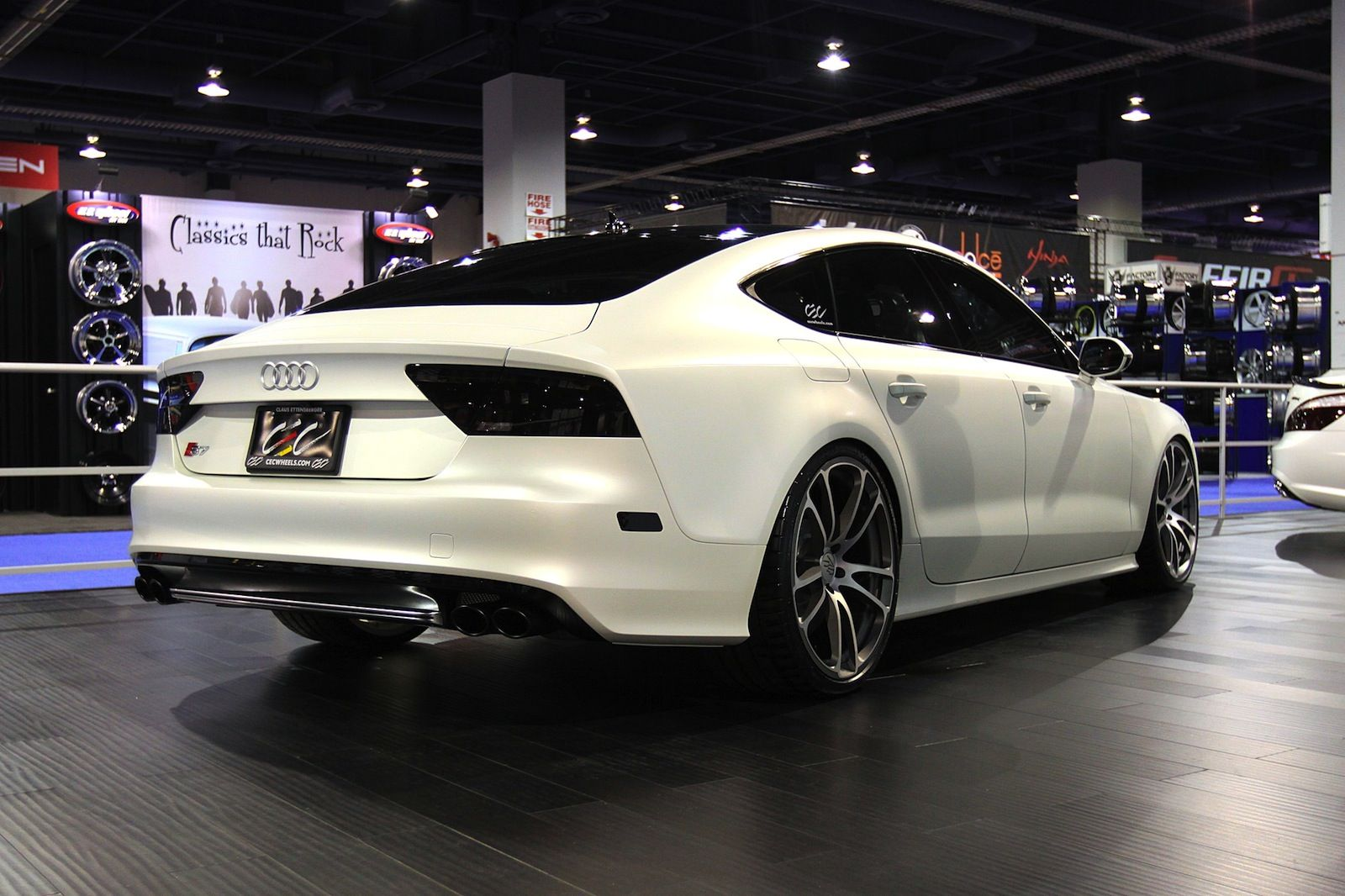 Merveilleux White Audi A7 Wallpaper
