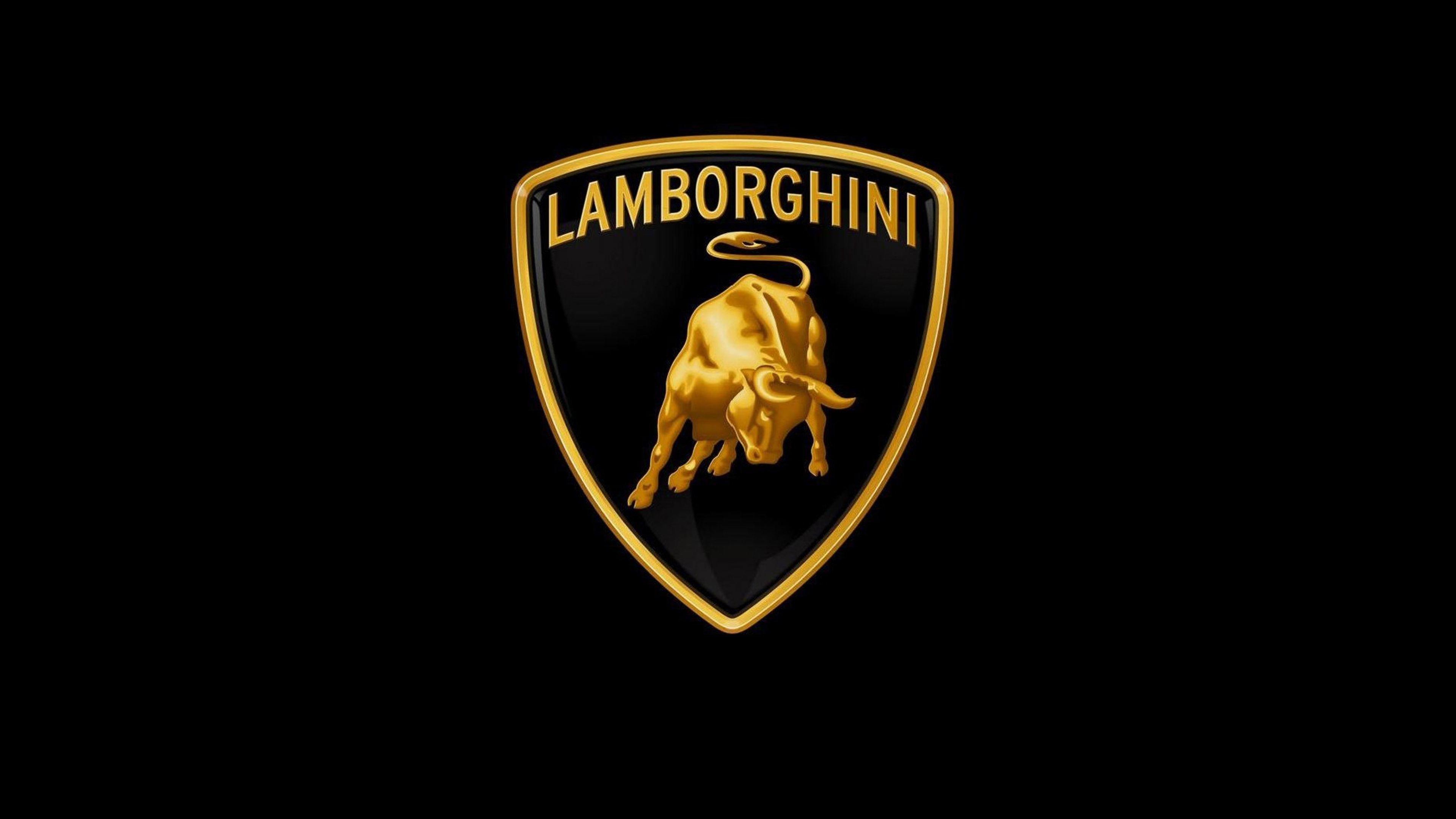Lovely Lamborghini Logo 4k Wallpaper Lamborghini Mobil Keren Mobil