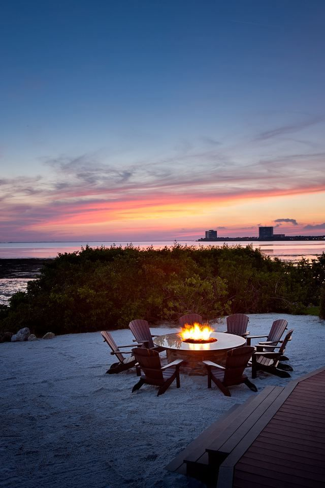 The Fire Pit At Oystercatchers Tampa Fl