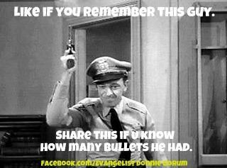 Barney Fife Quotes Prepossessing Andy Griffith Show Httpsfbcdnsphotosa.akamaihdhphotosak . Design Ideas