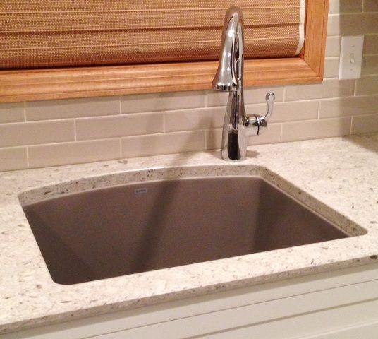 kitchen sink faucet placement