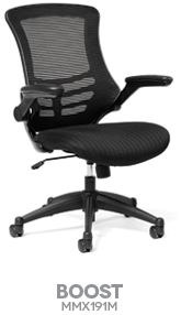 Boost Basics Collection Mesh Back Task Chair Boost Your Energy By Sitting All Day In This Balanced And Comfortable Mesh Bac Contract Furniture Task Chair Chair