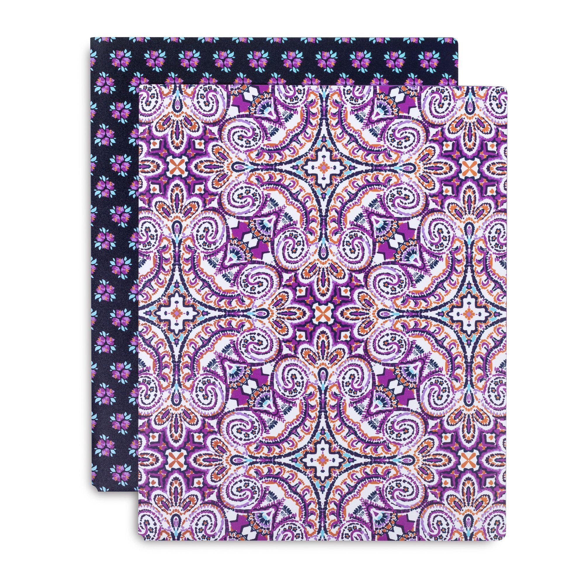 Vera Bradley Pocket Folder, Dream Tapestry