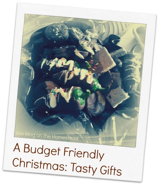 Christmas on a budget? Try these chocolate covered Christmas gifts