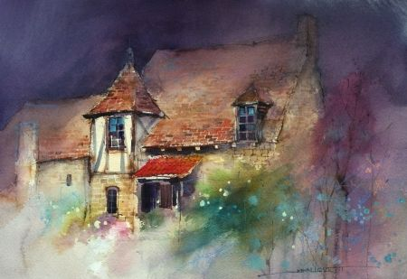 Watercolor by John Lovett