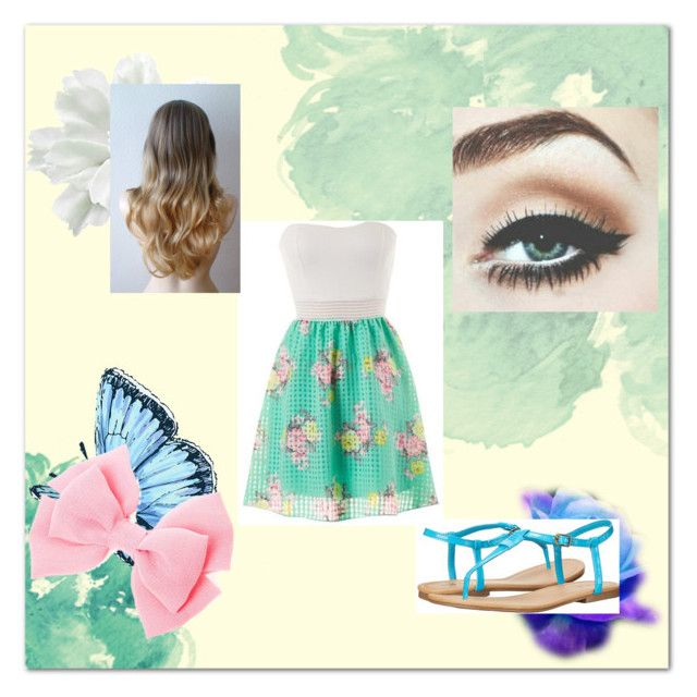 """""""spring"""" by crystal-clear-killer ❤ liked on Polyvore featuring MIA"""