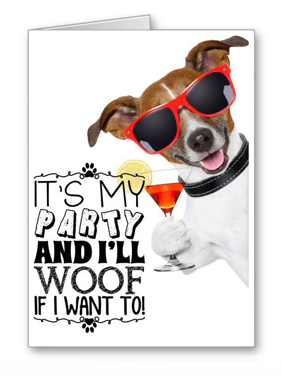 Greetings Cards Happy Birthday Dogs Jack By Thelazycatstudio With
