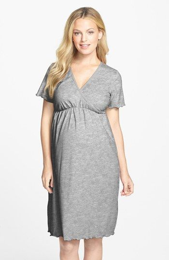 64ae6b6b94d Possible Hospital Gown | Japanese Weekend Surplice Maternity/Nursing  Nightgown | Nordstrom