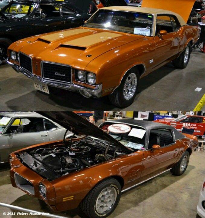 72 Olds Cutlass And 71 Firebird Pontiac Cars Performance Cars New Trucks