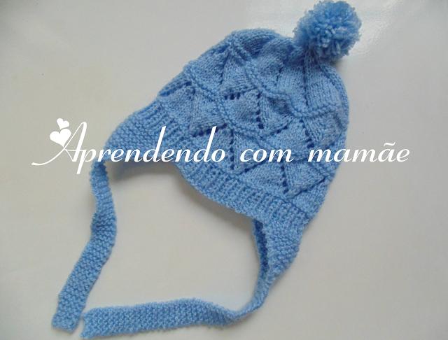 tricô, enxoval de bebê, maternidade, pompom, agulhas pingouin, círculo, lã Mais…