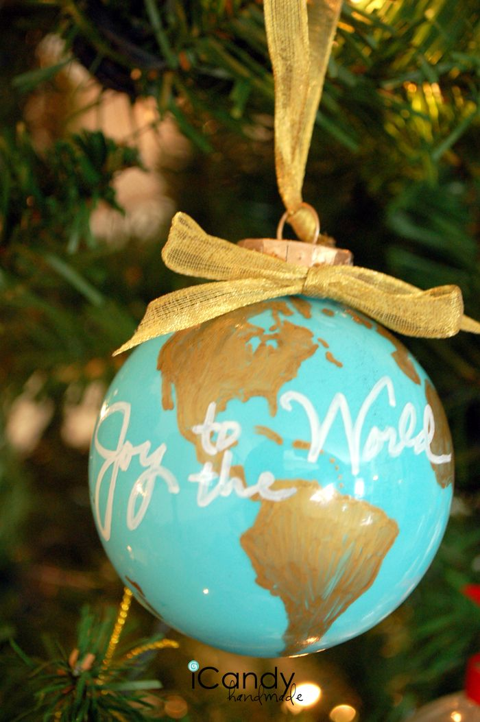 Joy To The World Icandy Handmade Diy Christmas Ornaments Christmas Ornaments Christmas Fun