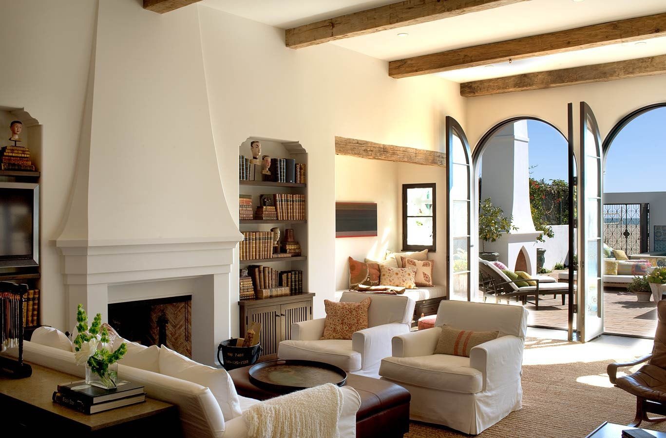 Living Room Furniture Ideas For Any Style Of Decor Mediterranean Living Rooms Colonial Style Interior Mediterranean Styles Interior