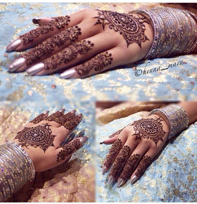 20 Beautful Henna Designs For Nikah: 20 Beautful Henna Designs For Nikah