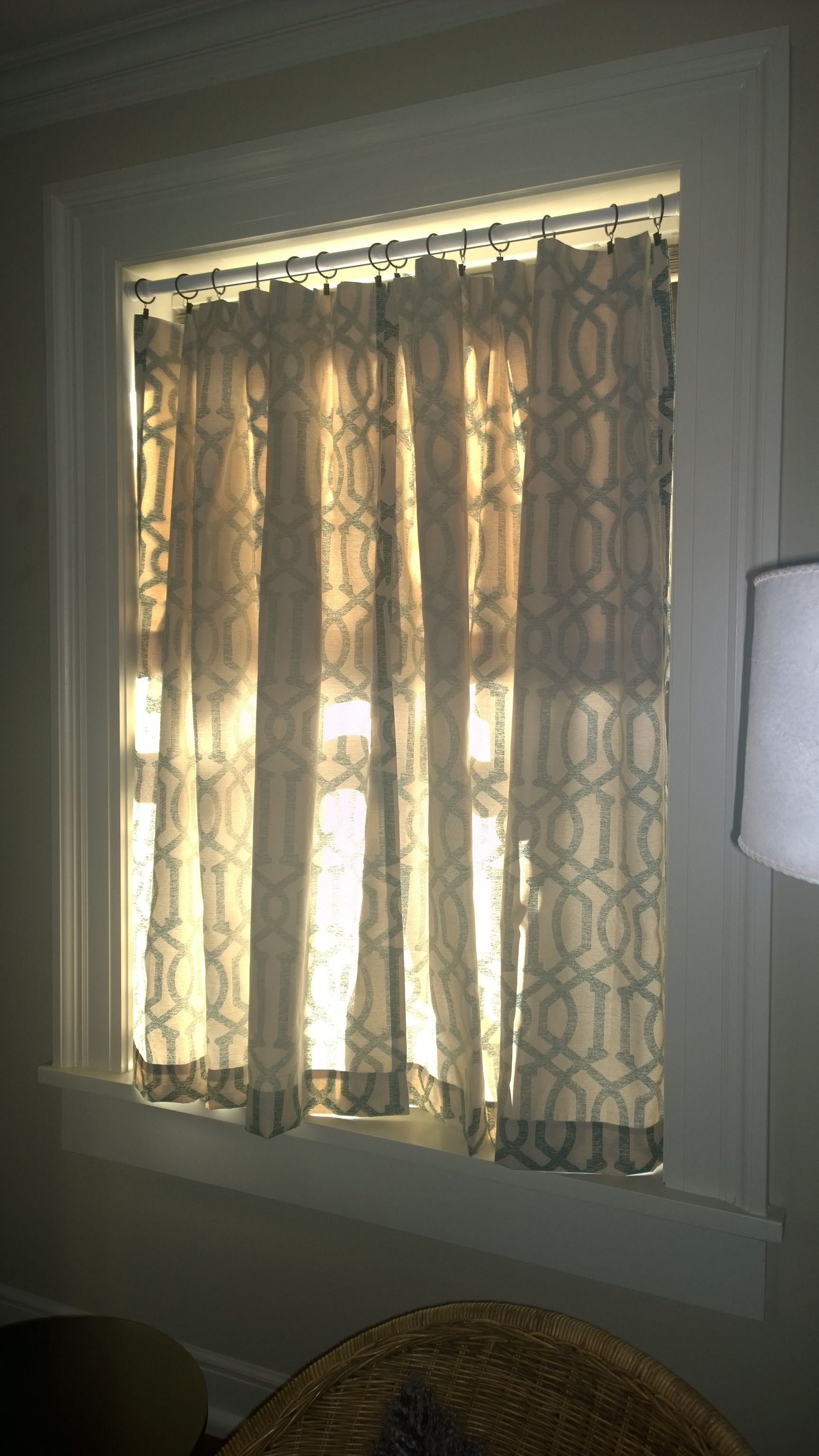 My Attempt At No Sew Cat Proof Curtains Wrong Side Out More Subtle Cat Proofing Curtains Decor