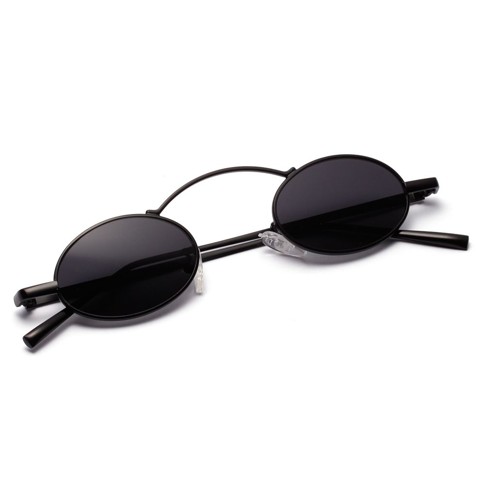 3a5293b7cfbe Peekaboo vintage small round sunglasses men red 2019 black oval sun glasses  for women retro unisex metal frame  smallsunglasses  round