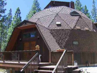 Taylorsville CA: This sunny, geodesic dome style home offers 360 ...