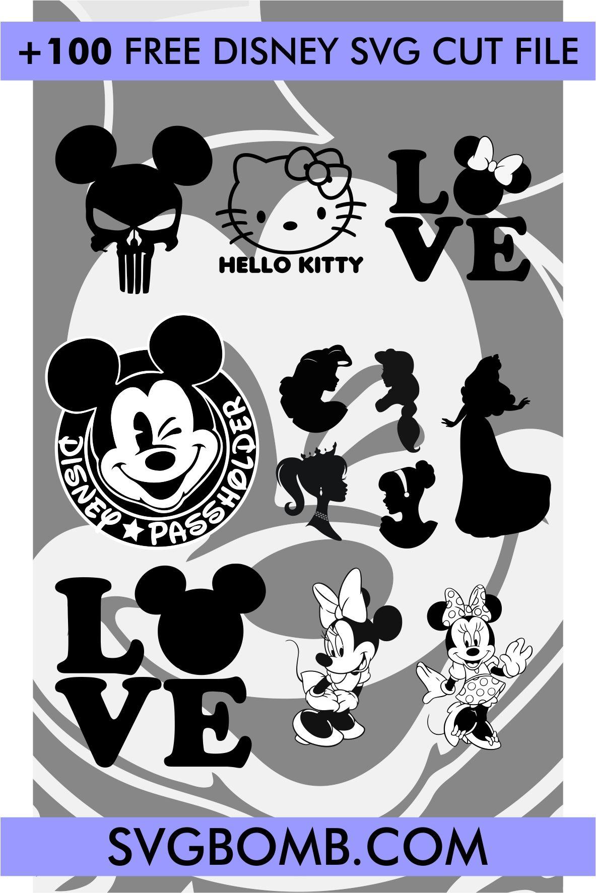 Disney Cricut Free Cricut Svg Files Free Cricut Svg