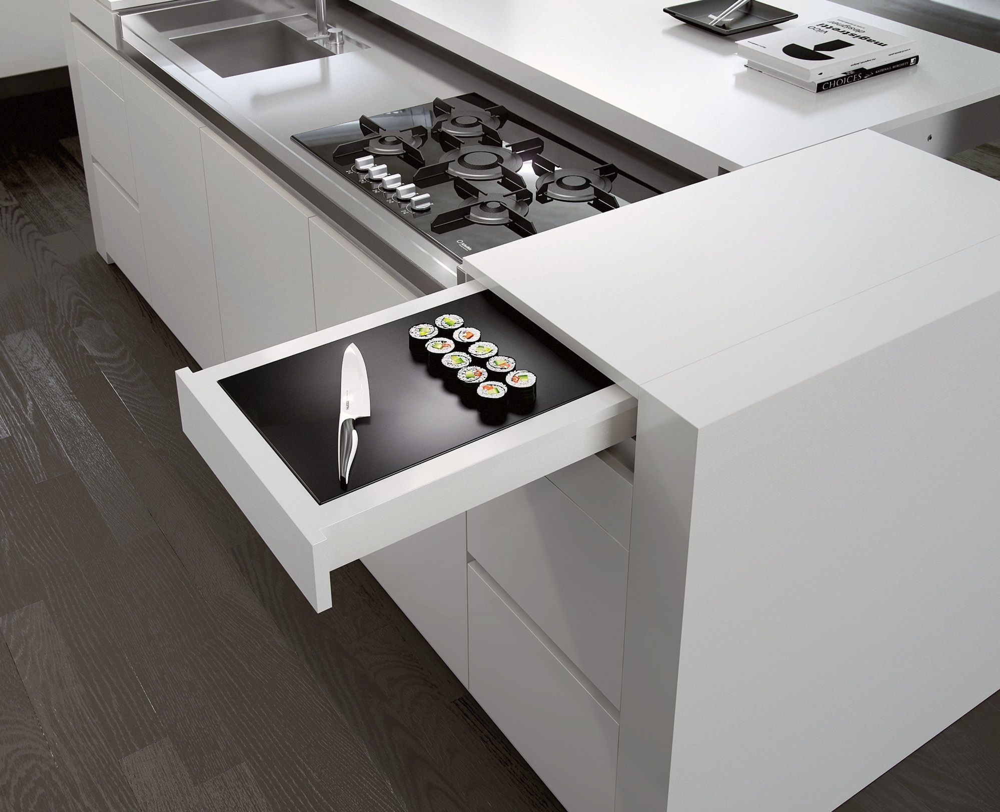 compact and chic kaboodle kitchen in 2019 kitchen kitchen interior kitchen remodel on kaboodle kitchen layout id=62836