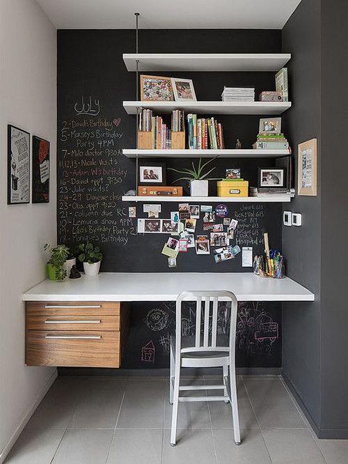 Ideas Creativas para Decorar Tu oficina En Casa | Desks and House