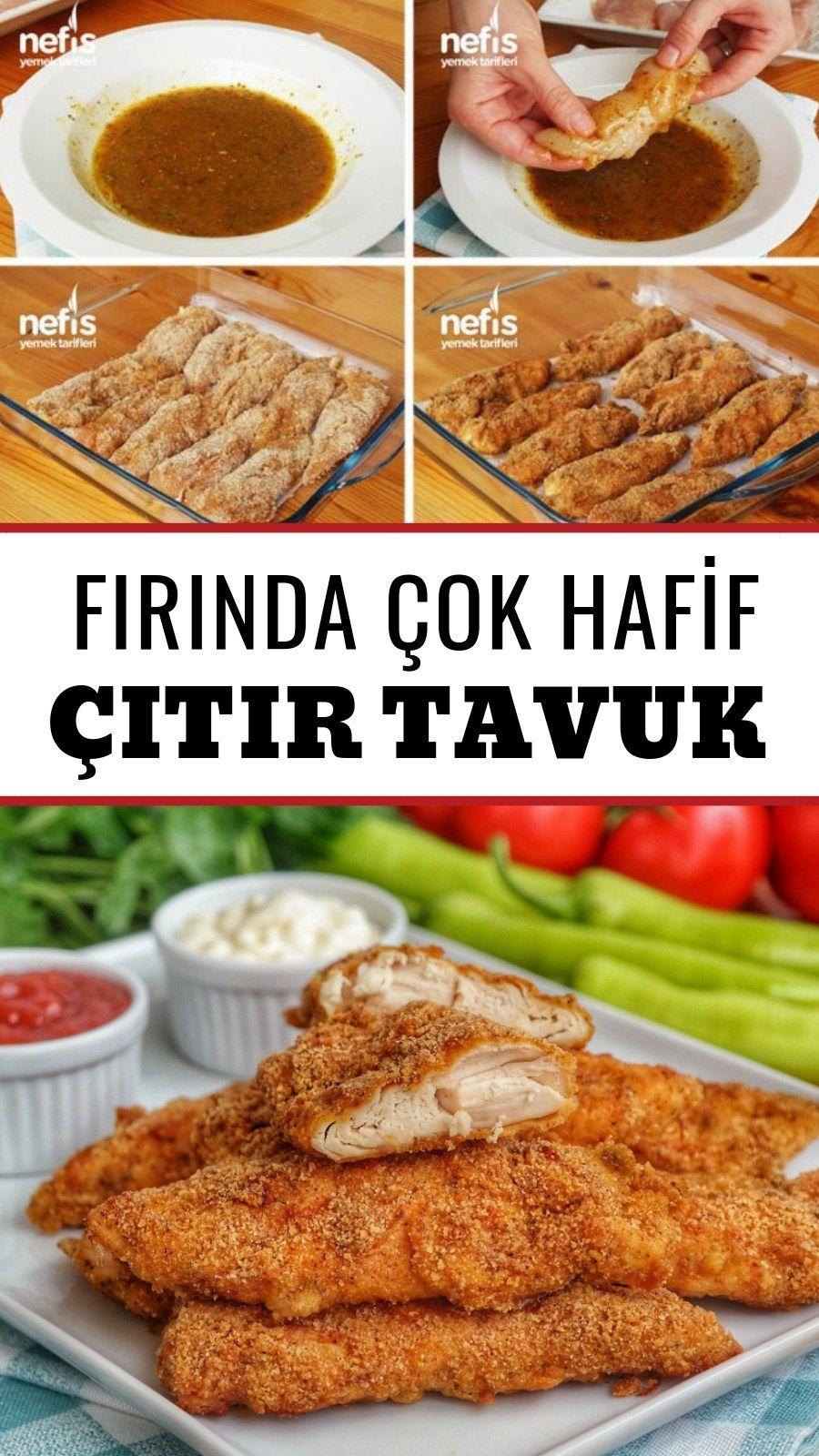 Firinda Galeta Unlu Citir Tavuk Videolu Nefis Yemek Tarifleri Yemek Tarifleri Yemek Yiyecek Ve Icecek