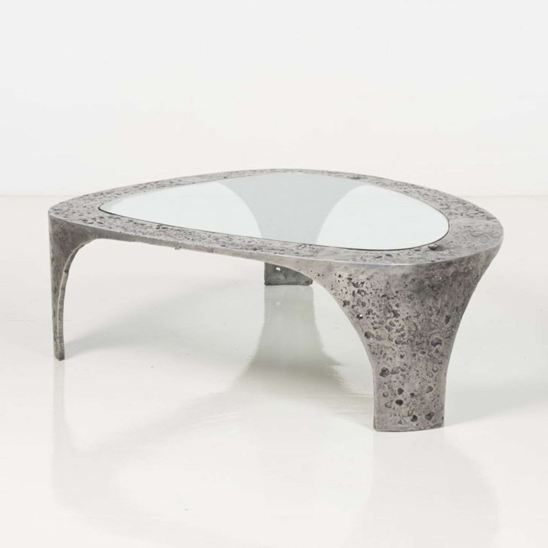 Pin By Product Bureau On Tables Coffee Side: Silas Seandel; Cast Bronze, Aluminum And Glass 'Duomo
