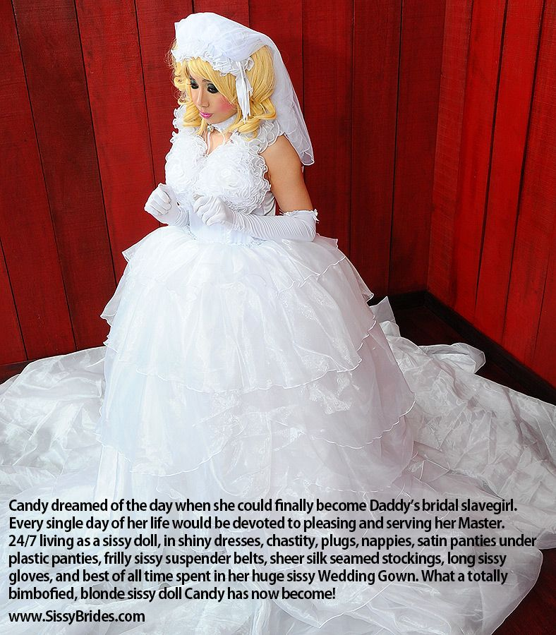 Pin on Sissy Brides