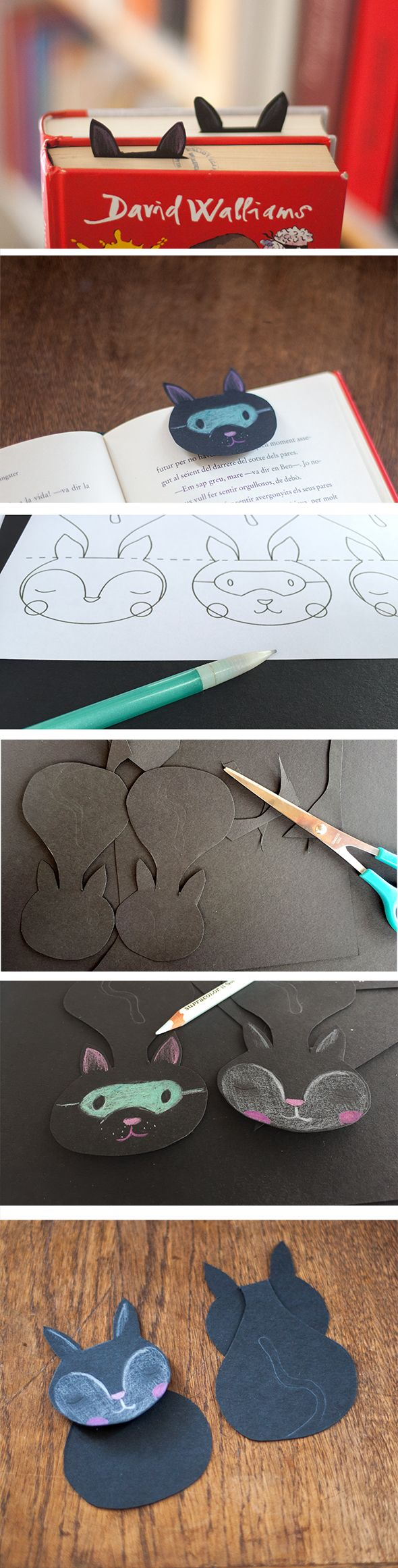 Bookmark / Marcapáginas / Lesezeichen | Bookmarks, Crafts and Origami