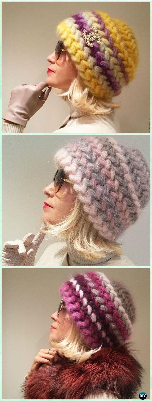 Crochet Braid Puff Stitch libre patrón y la instrucción de vídeo ...
