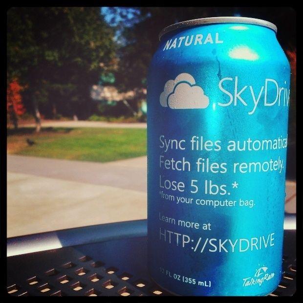 #SkyDrive Natural!