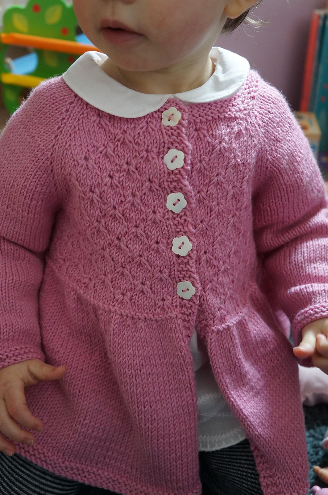 Alouette pattern by Lisa Chemery | Jacken, Babys und Stricken