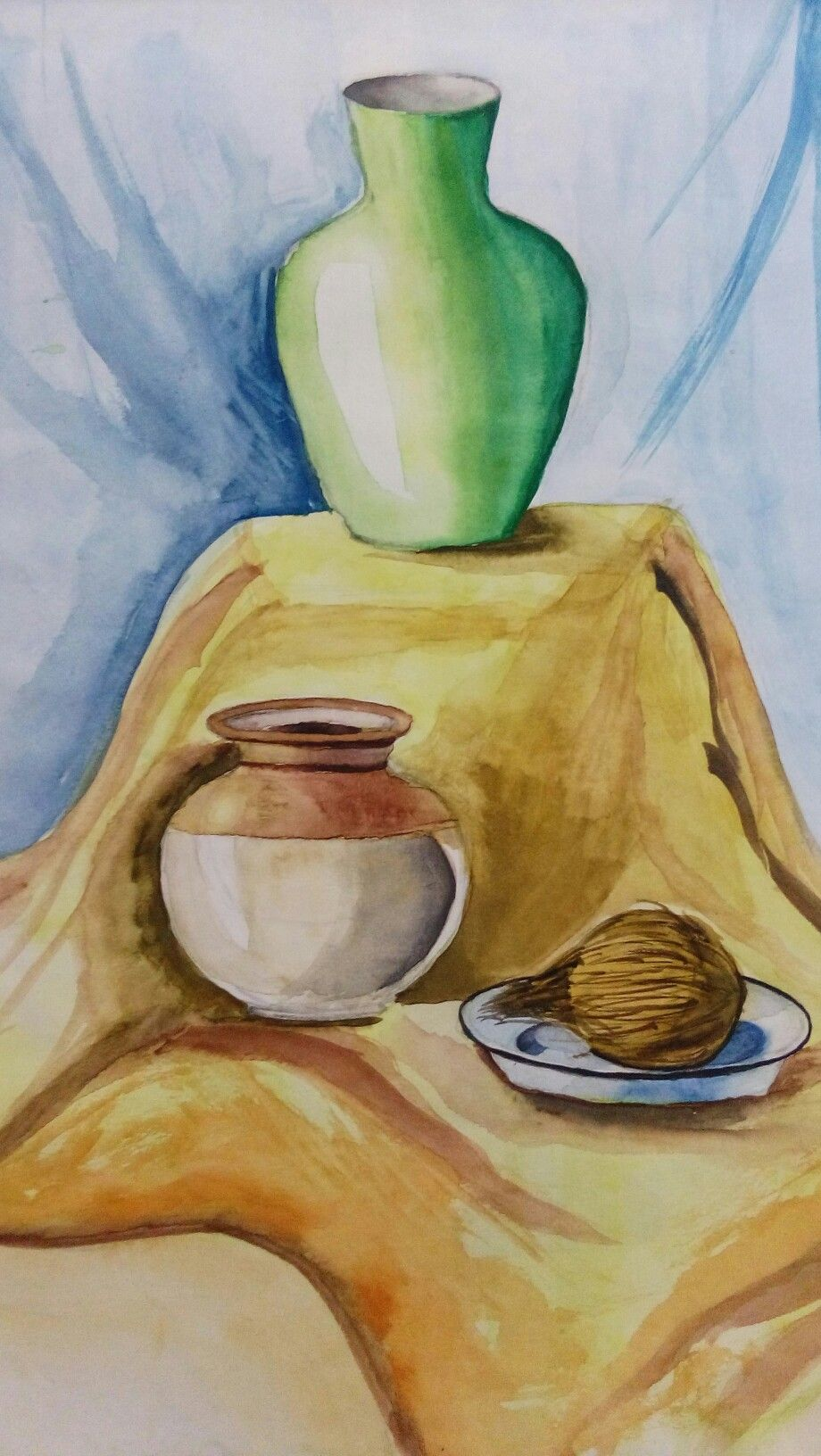 By Avani Sathe With Images Watercolor Paintings For Beginners