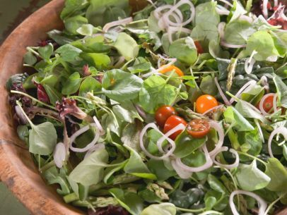 Get this all-star, easy-to-follow Spring Greens Salad with Traditional Ranch Dressing recipe from Nancy Fuller