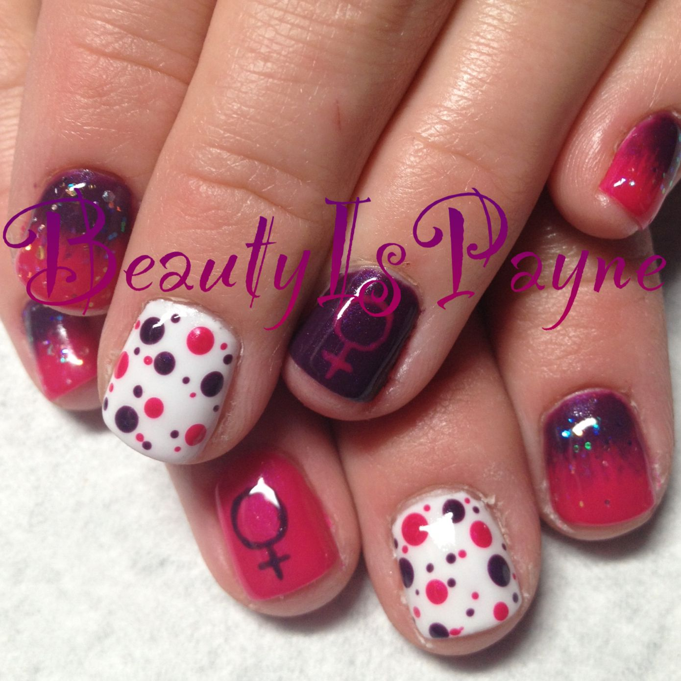 BeautyIsPayne It's a Girl!! Nails This girl ROCKS at what