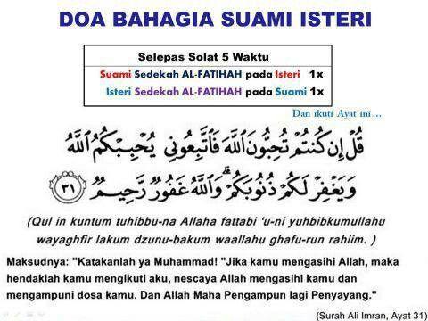 Doa Amalan Lps Slps Solat Doa Bahagia Motivasi