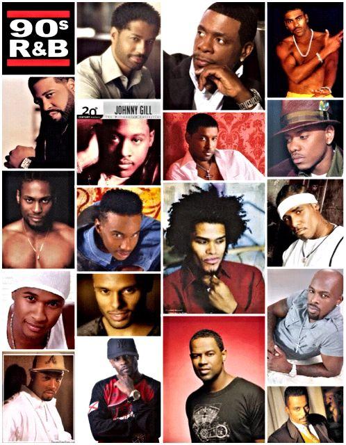 Men of 90s RnB #EricBenet #KeithSweat #Ginuwine #GeraldLevert #JohnnyGill #Babyface #DonellJones #Dangelo #TevinCampbell #Maxwell #Rkelly #Usher #KennyLattimore #Joe #MontellJordan #Case #BrianMcknight #RalphTresvant