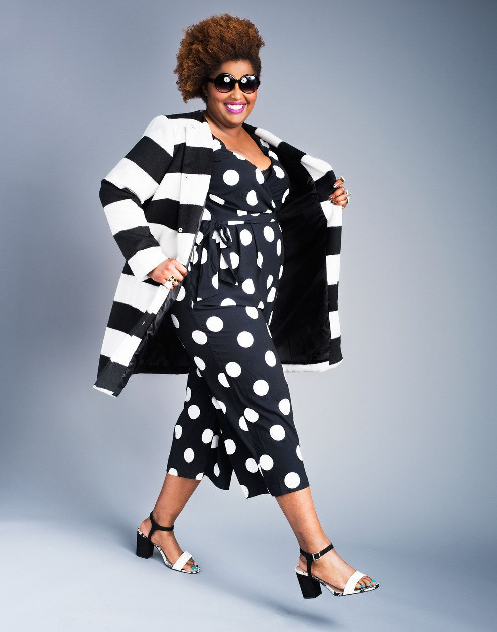 This woman proves plussize fashion