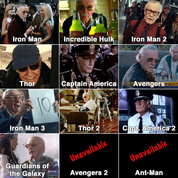 A Closer Look At Marvel S Many Easter Eggs Marvel Best Movie Quotes Stan Lee Cameo