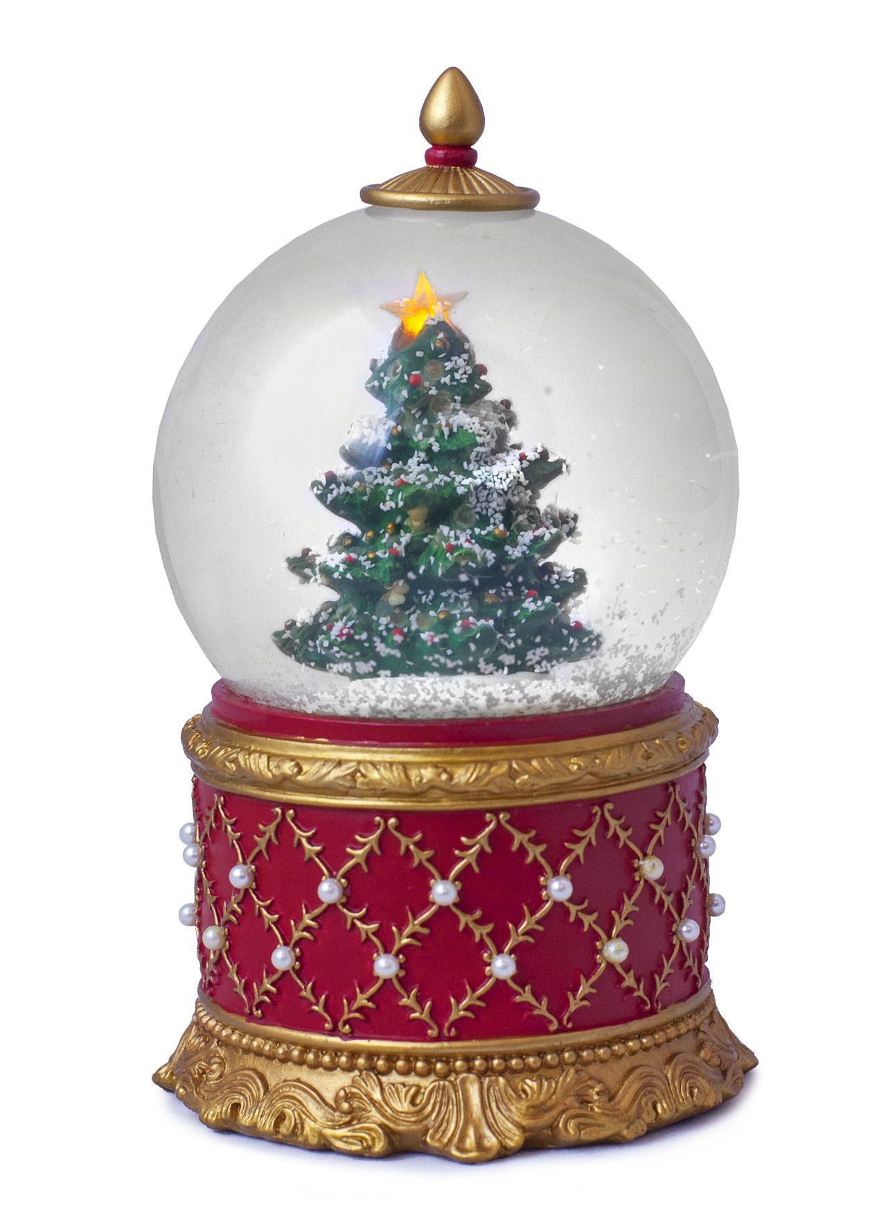 lenox christmas snow globes Christmas Snow Globe Musical